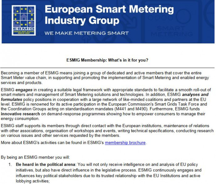 Foto Seite 15 smart meter industry group