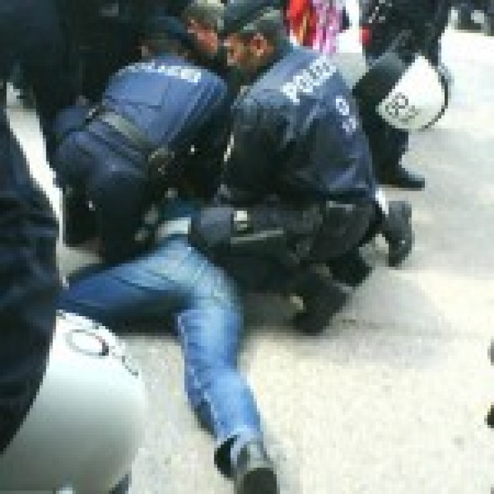 Polizeigewalt Am 1 Mai In Linz